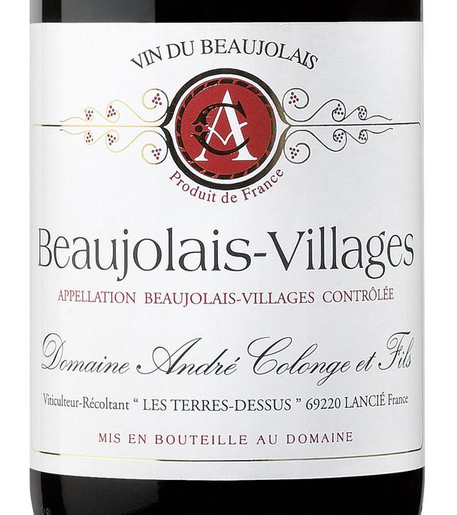 Domaine-Andre-Cologne-_26-Fils-Beaujolais-Villages-2009-Label